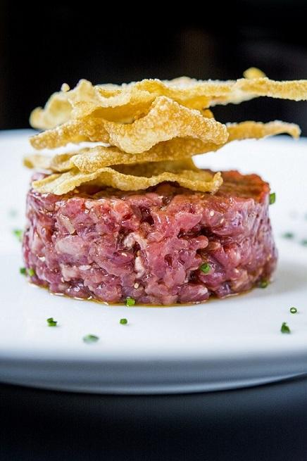Steak tartar de 'La Finca'-La Dehesa