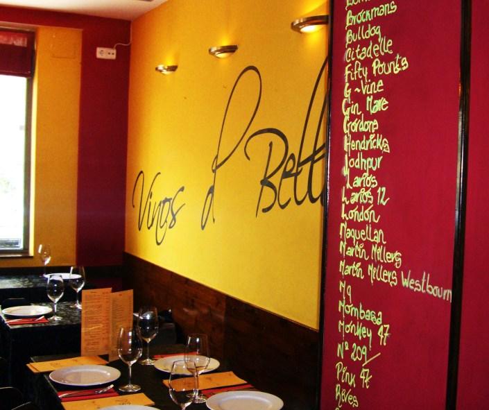 Fotografía del local extraída de la web de VINOS DE BELLOTA