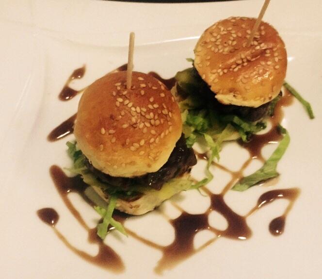 Mini-hamburguesitas de Lakuntza
